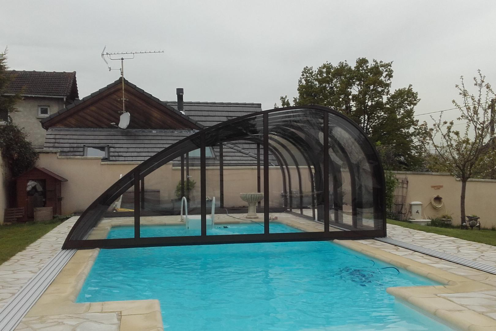 Abris juralu terrasse piscine spa voiture i v randa for Piscine mobile prix