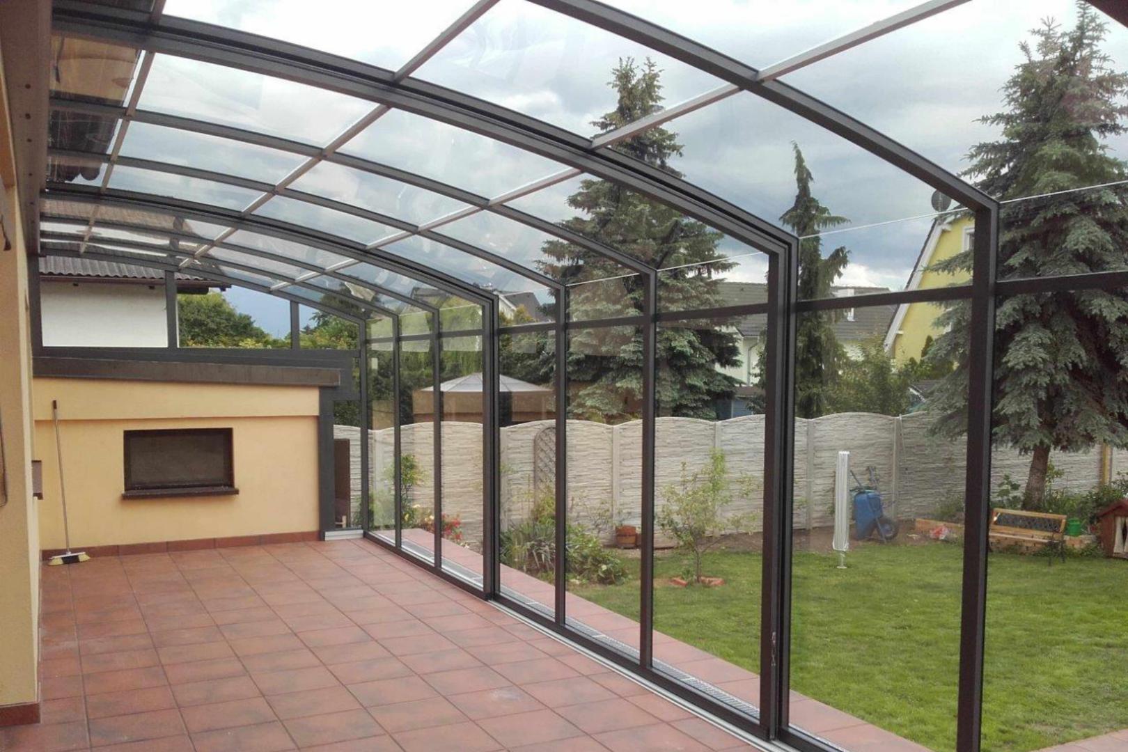 Abri De Terrasse Topaz A Pans Droits La Solar Veranda Topas